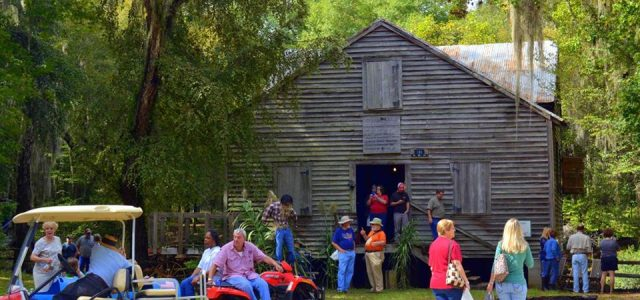 Kenan's Mill was built in the mid 1800′s and produced water-ground meal, grits and corn for over 100 years.  The grounds also include a fascinating 19th Century brick charcoal kiln.  […]